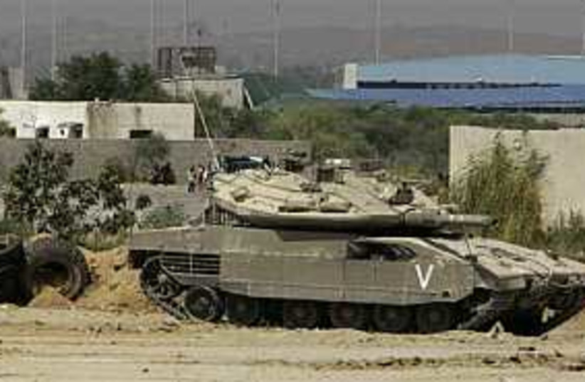tank 298.88 (photo credit: AP [file])