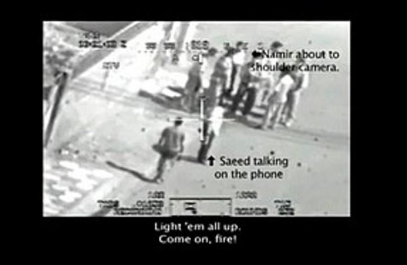 Iraq Journalists shooting 311 (photo credit: Associated Press)