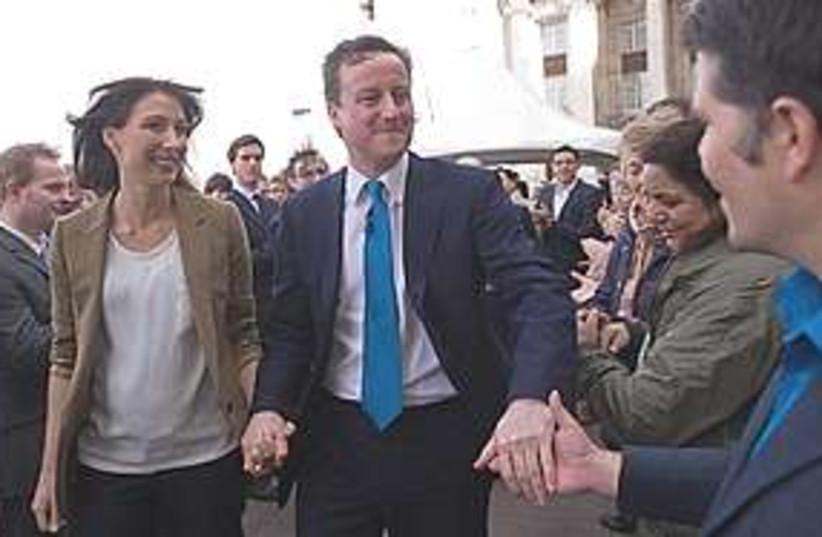David Cameron 311 (photo credit: Associated Press)