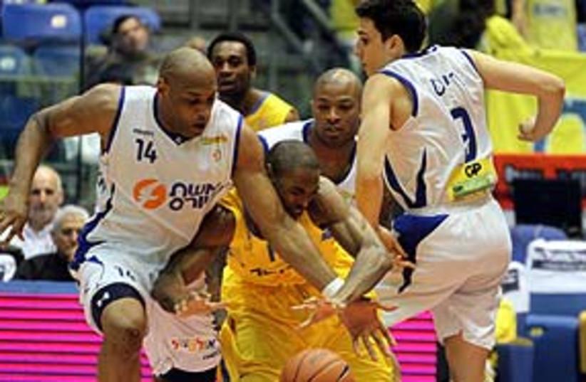 Maccabi TA's Anderson 311 (photo credit: BSL)