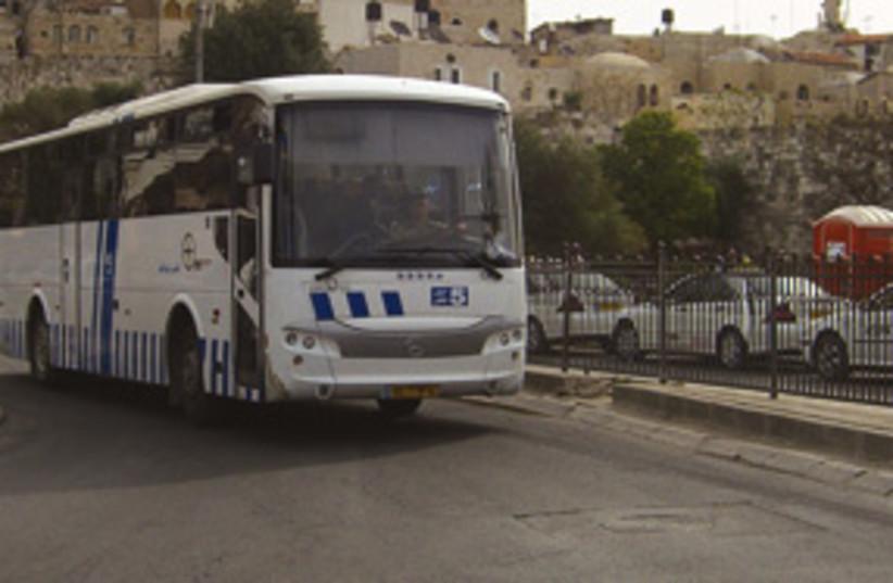 arab bus jlem 311 (photo credit: Matt Zalen)