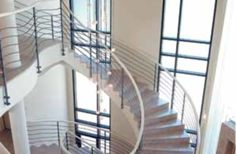 staircase 298 (photo credit: Eyal Izhar)