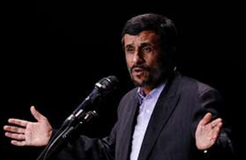 ahmadinejad 311 (photo credit: AP)