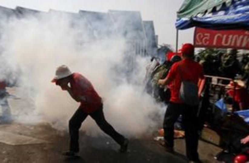 Bangkok Riots (photo credit: ASSOCIATED PRESS)