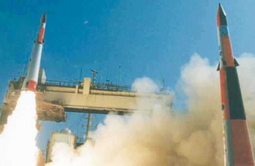Preparing for Rocket War 311 (photo credit: .)