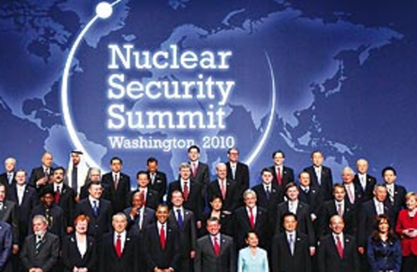 Nuclear Summit 311 (photo credit: .)