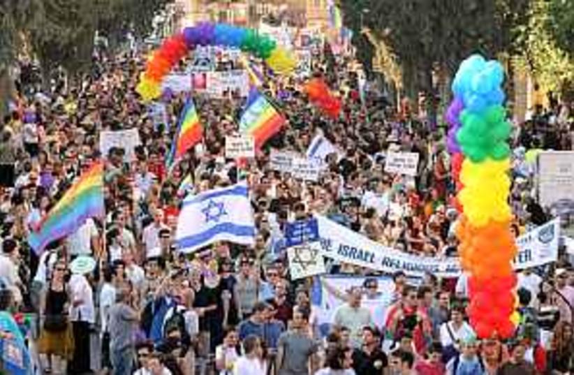 gay parade 298.88 (photo credit: Ariel Jerozolimski )