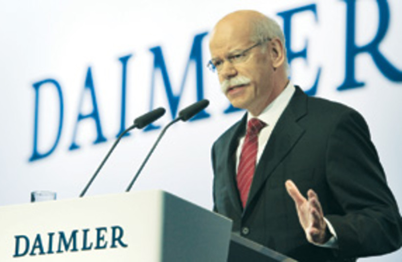 dieter zetsche 311 (photo credit: AP)
