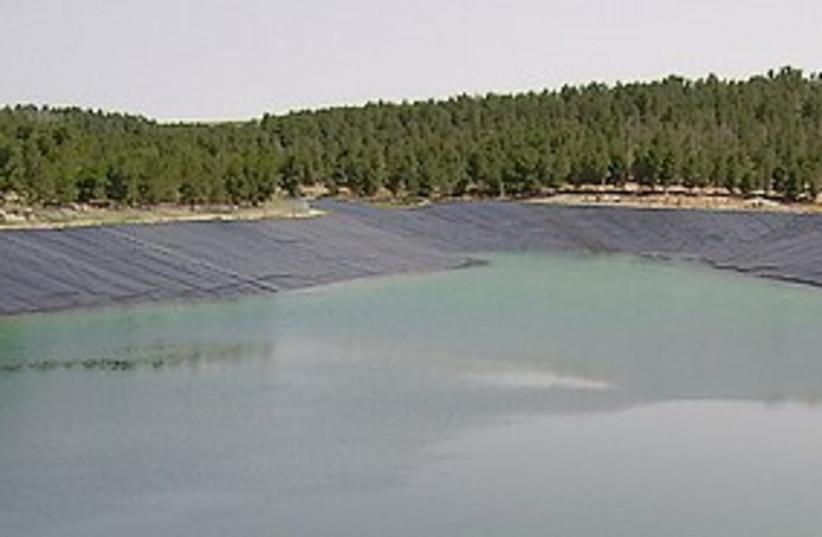Yatir reservoir 311 (photo credit: Courtesy)