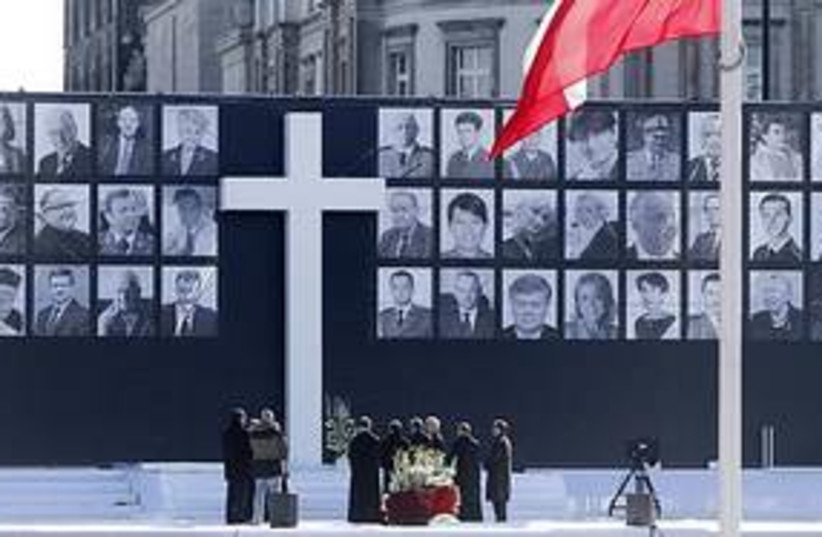 poland memorial311 (photo credit: ASSOCIATED PRESS)