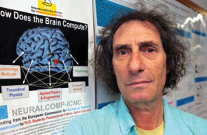 prof idan segev brain 311 (photo credit: Ariel Jerozolimski)