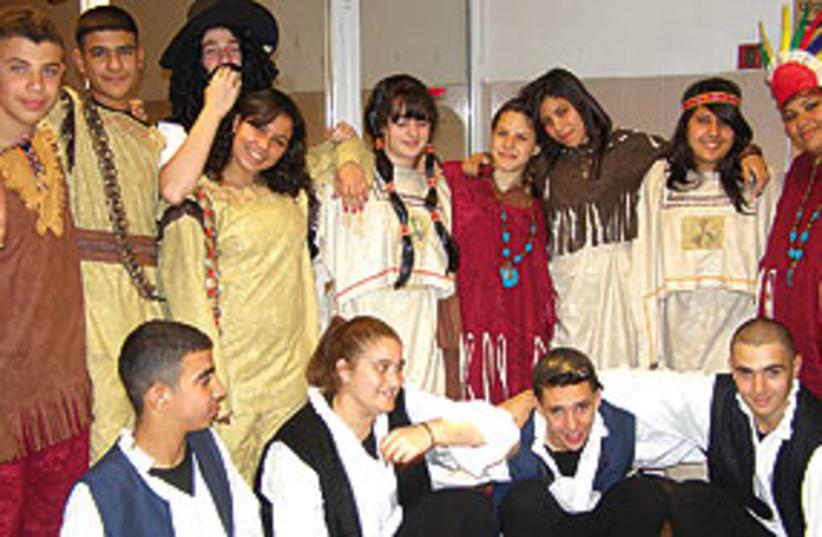 jewish and arab teenagers 311 (photo credit: Gloria Deutsch)