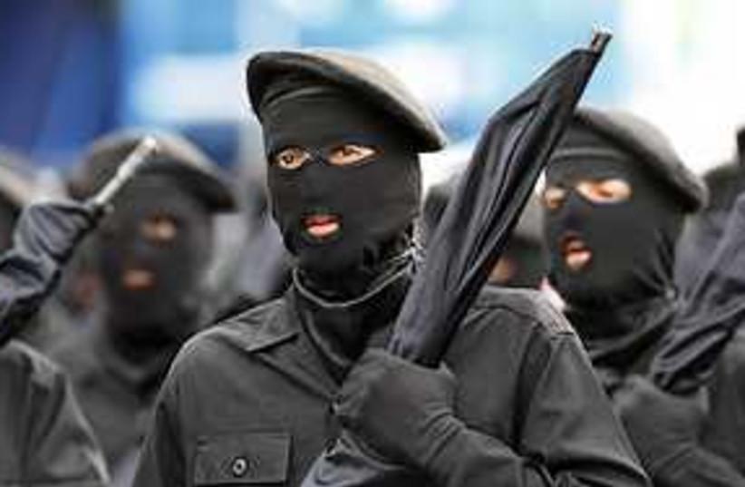 iranian soldiers 311 (photo credit: AP)
