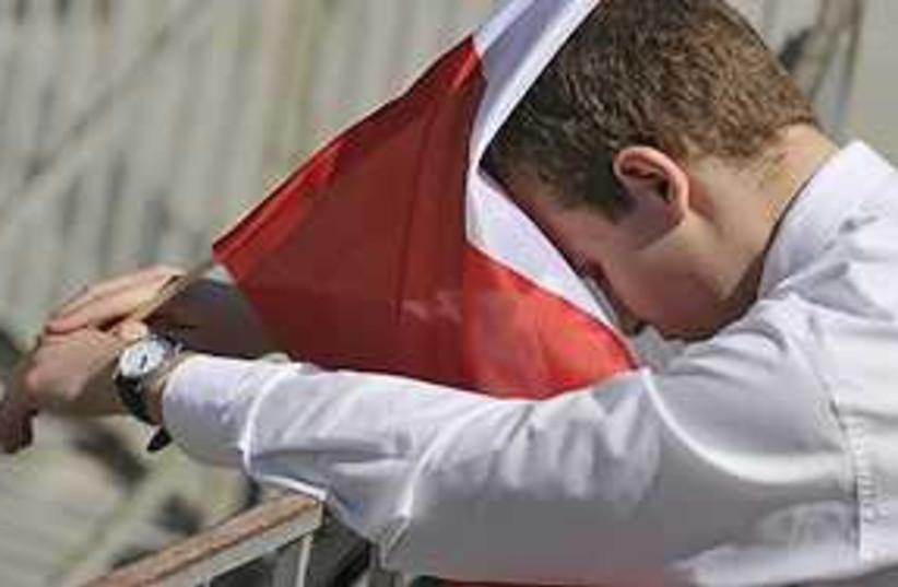 mourning kaczynski 311 (photo credit: AP)