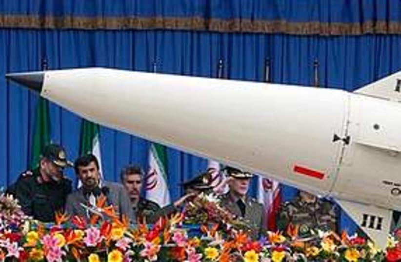 Iran missile parade 311 (photo credit: Associated Press)