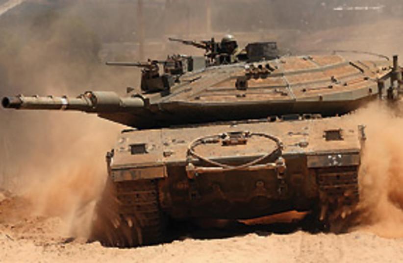idf tank 311 (photo credit: Ariel Jerozolimski)