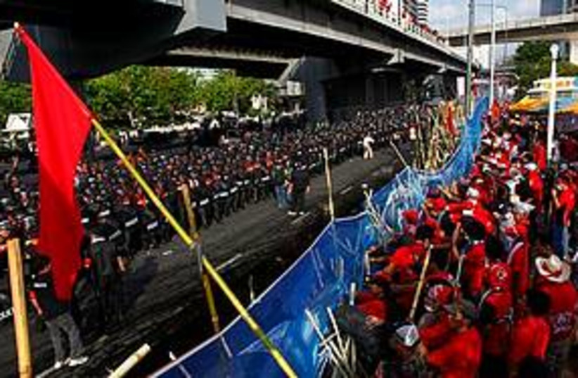 Thai standoff 311 (photo credit: Associated Press)