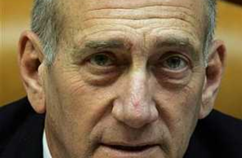 olmert scary 298.88 (photo credit: AP)