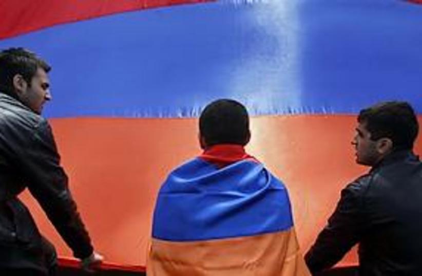 armenia memorial 311 (photo credit: AP)