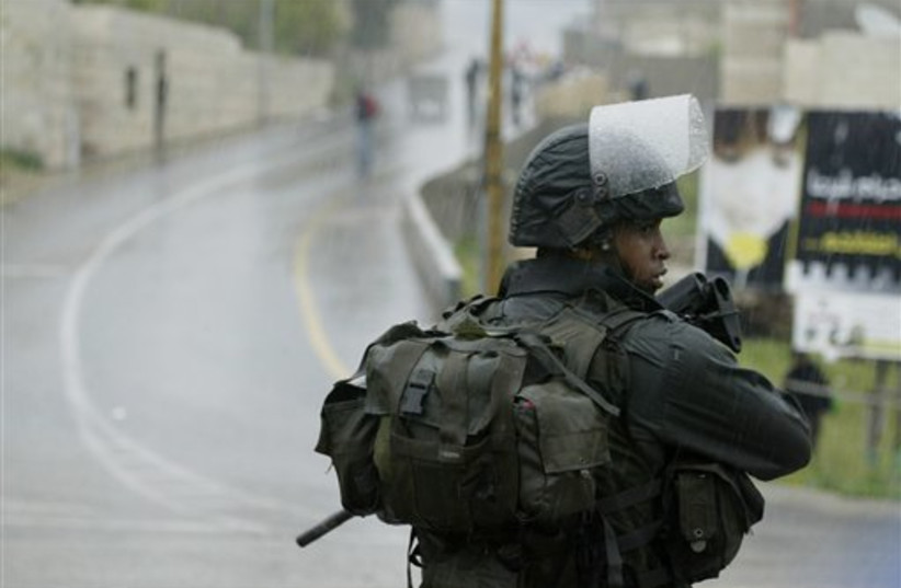 IDF soldier (photo credit: AP)