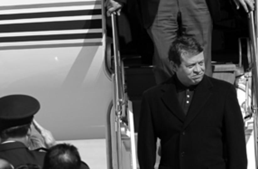 Jordan Abdullah 11 stairs 311 (photo credit: AP)