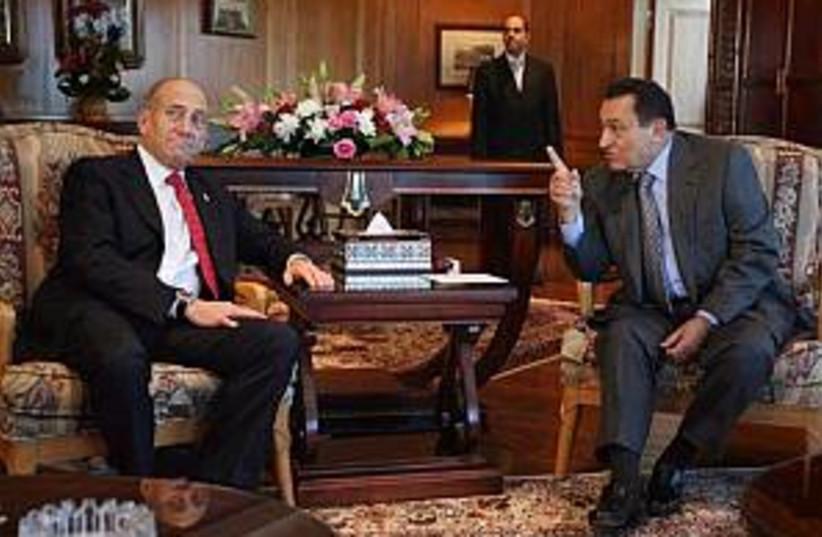 olmert mubarak sharm 298 (photo credit: AP)