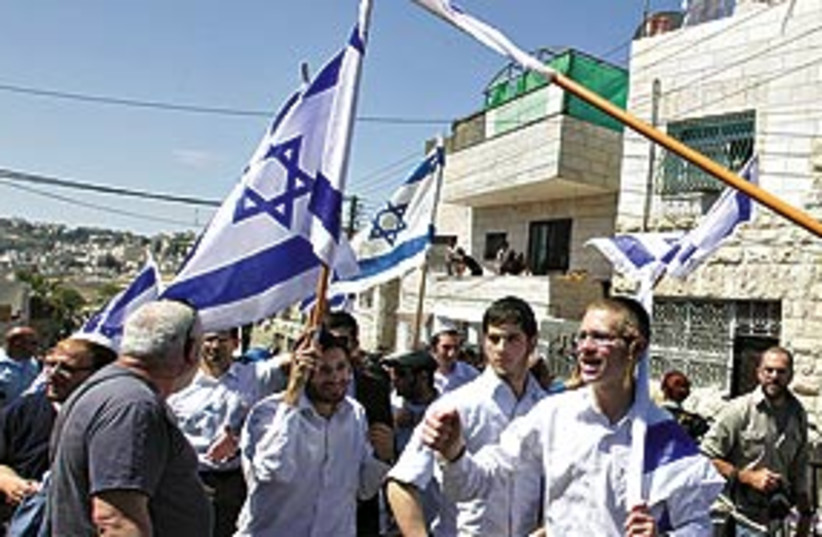 SilwanMarch311 (photo credit: Ariel Jerozolimski/The Jerusalem Post)