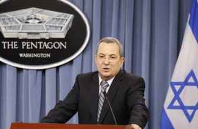 Barak Pentagon 311 (photo credit: AP)