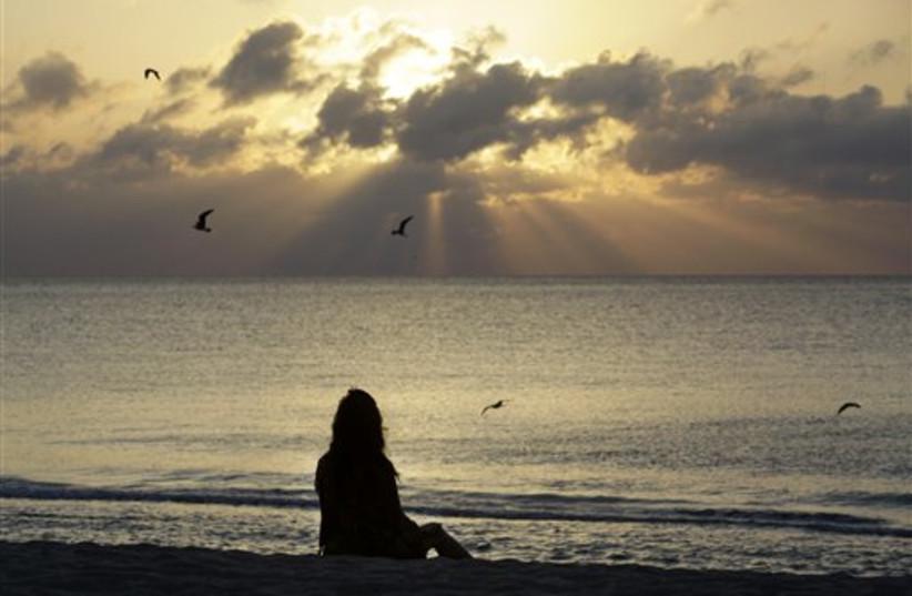 Miami Beach (photo credit: AP)