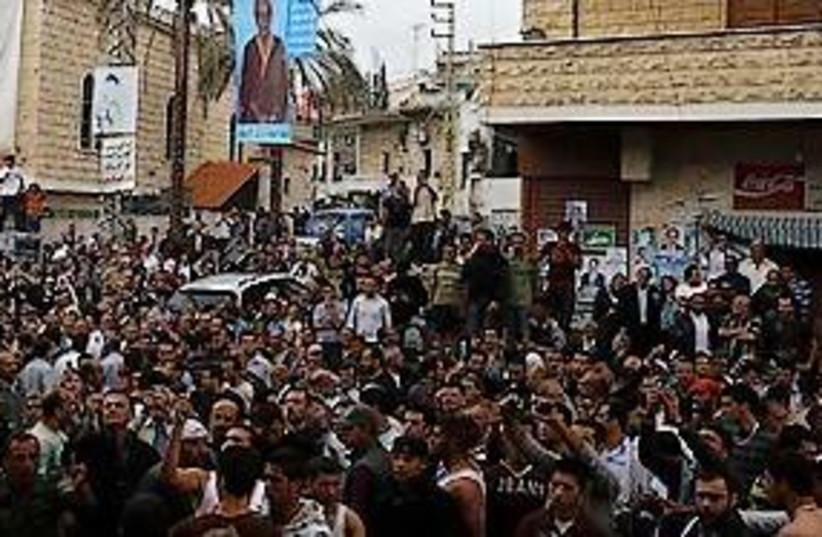 Lebanese lynching 311 (photo credit: Associated Press)