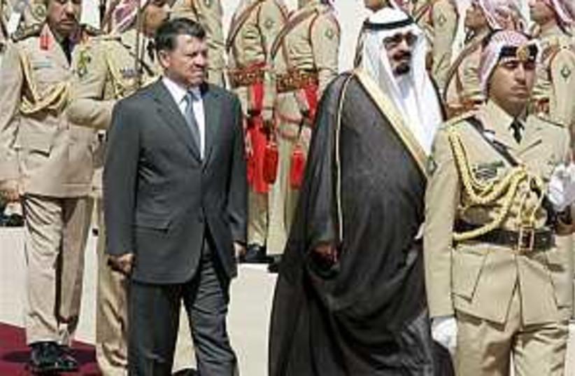 kings saudi jorda 298.88 (photo credit: AP)