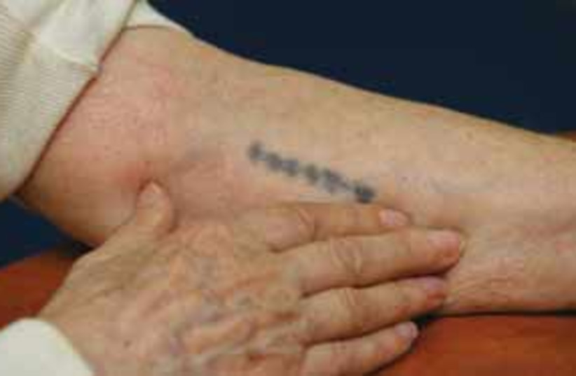 holocaust hand 311 (photo credit: courtesy)