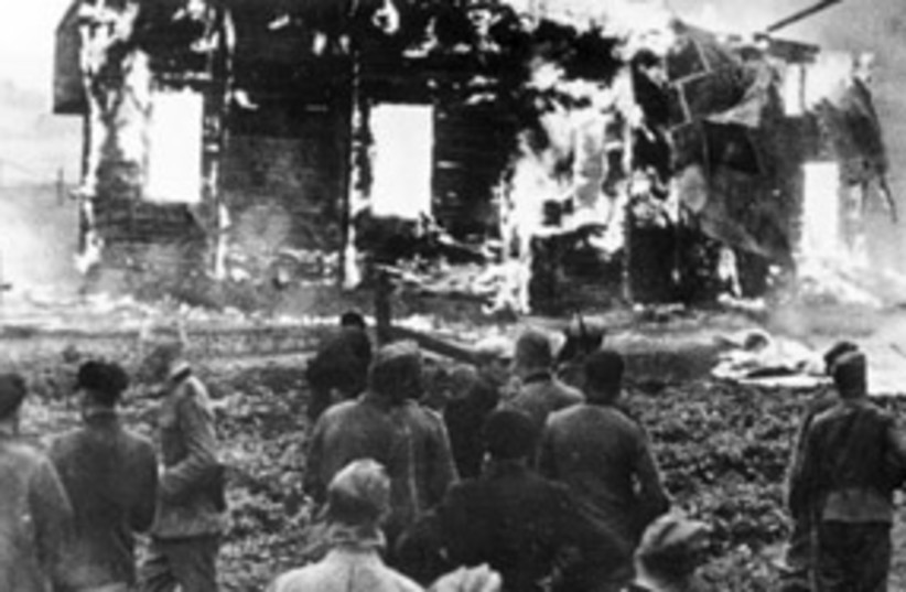 lithuania holocaust 311 (photo credit: German Federal Archive)