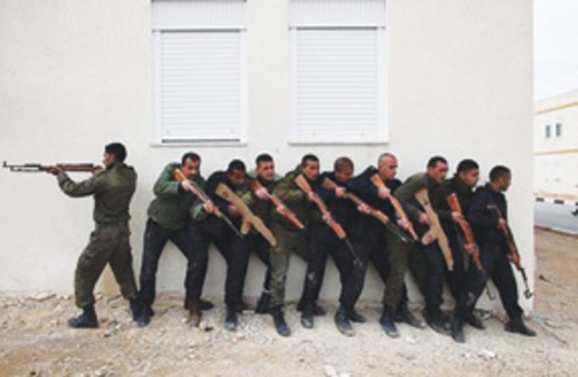 PalestinianAuthorityGunmen311 (photo credit: AP)