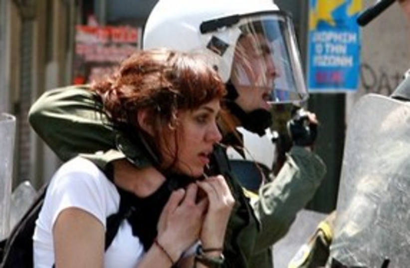 Riots in Greece 311 (photo credit: ap)