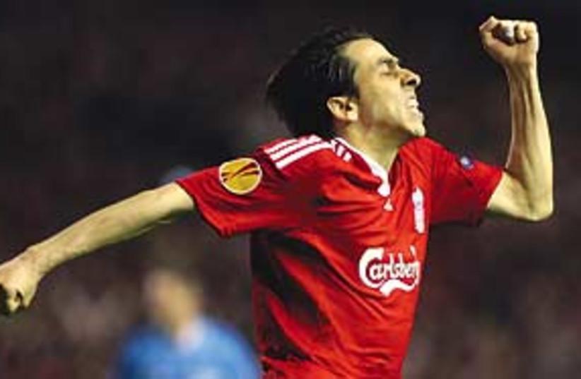 Benayoun celebrates 311  (photo credit: Associated Press)