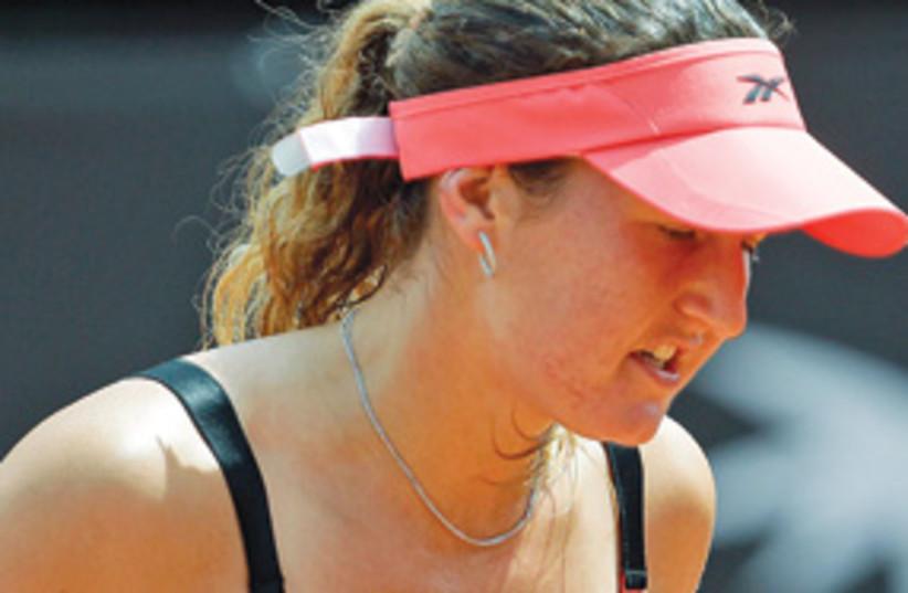 Shahar Peer tennis Italian open 311 (photo credit: BSL)