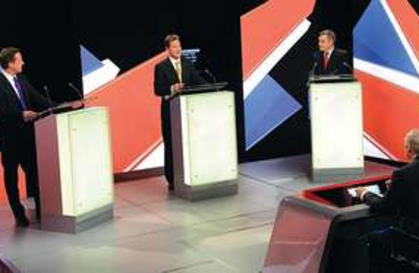 brit debate 311 (photo credit: Stefan Rousseau/ AP)