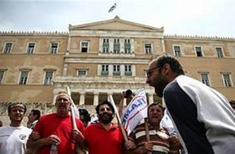 Riots Greece 311 (photo credit: AP)
