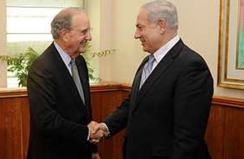 NMitchell and Netanyahu launch proximity talks 311 (photo credit: NMatty Stern/U.S. Embassy Tel Aviv)