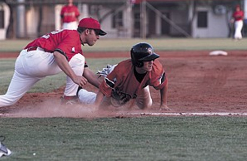 Baseball Tigers 298.88 (photo credit: Efrat Sa'ar)