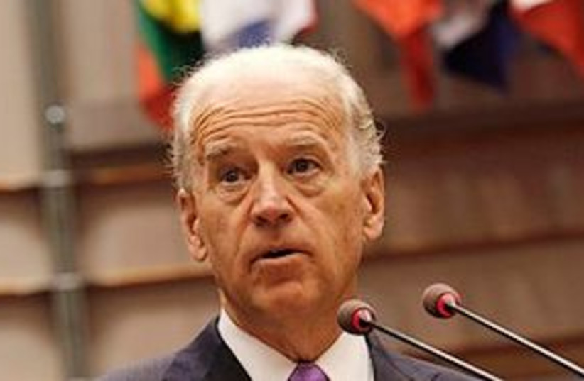 Joe Biden 311 (photo credit: Associated Press)