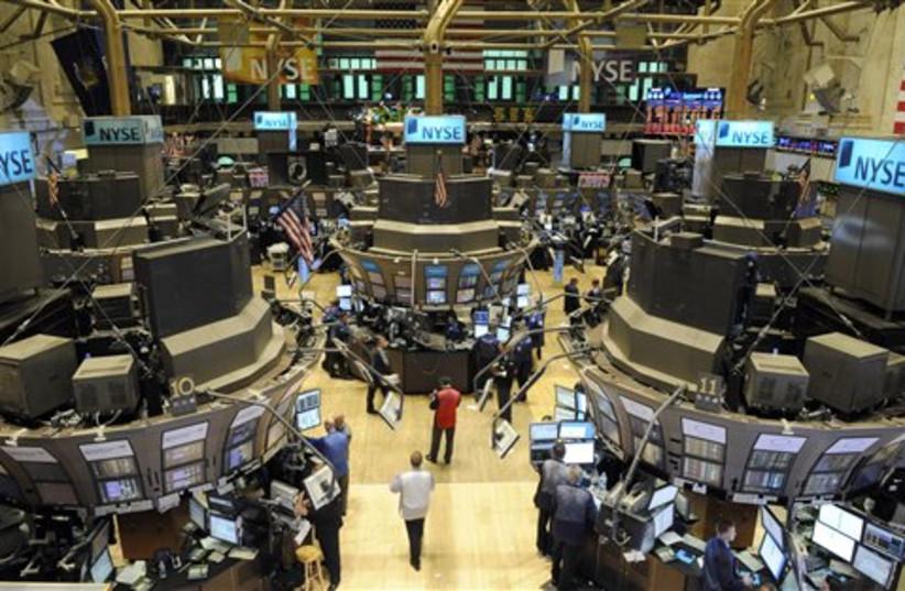 New York Stock Exchange (photo credit: AP)