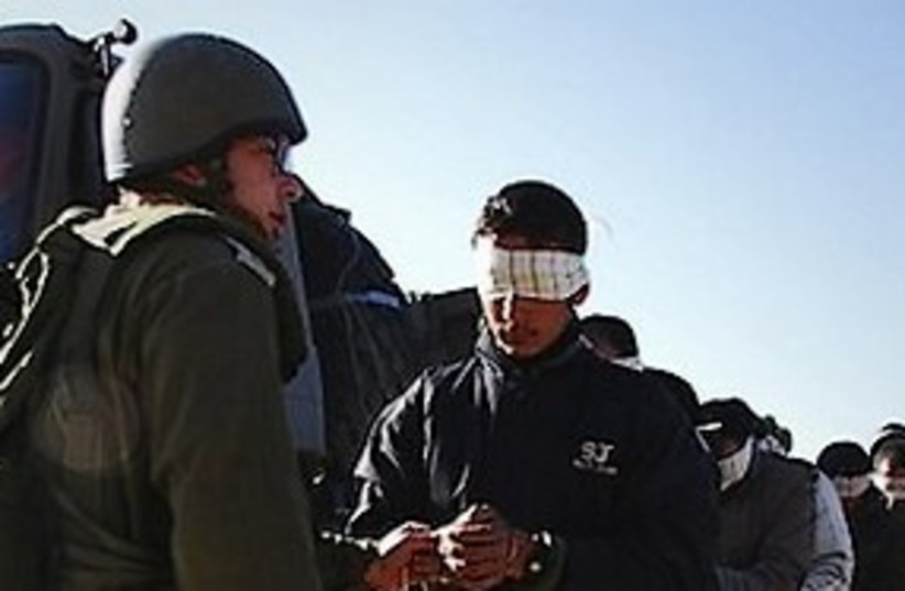 idf arrest311 (photo credit: ap)