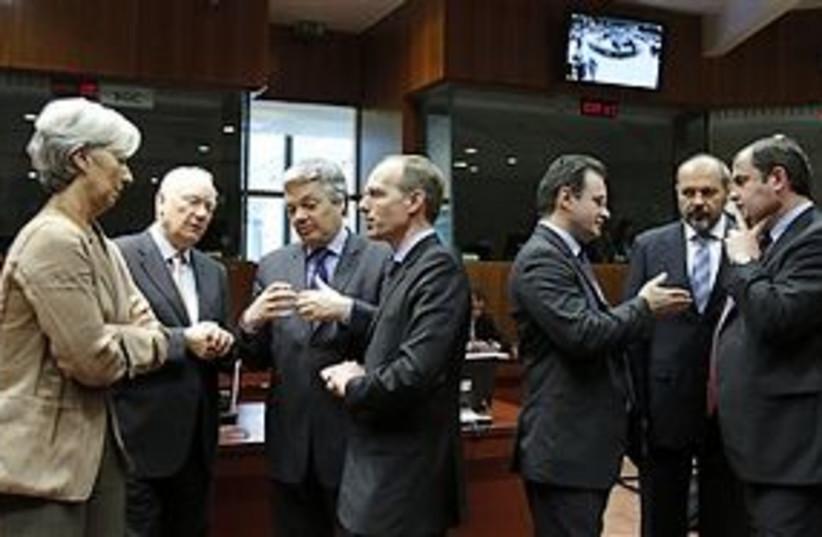eu saving euro 311 (photo credit: AP)