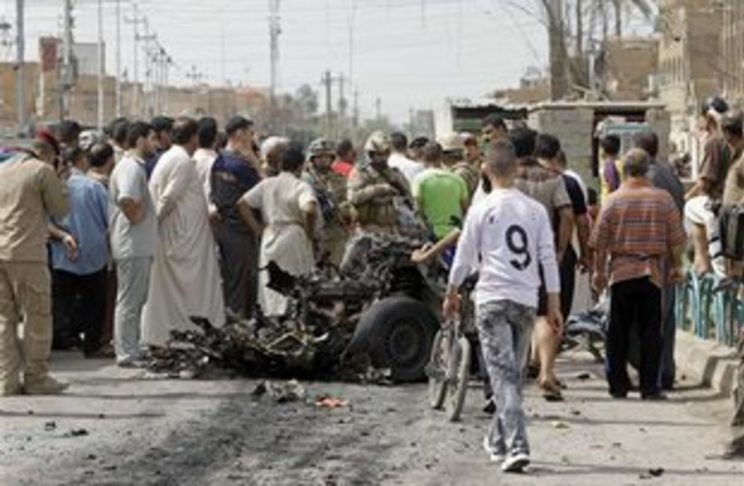 Iraq bomb attack 311 (photo credit: ASSOCIATED PRESS)