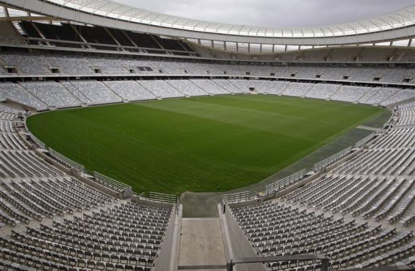 South Africa stadium (photo credit: AP)