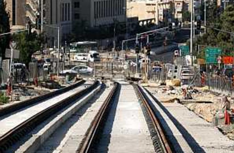 jlem light rail 2 (photo credit: Ariel Jerozolimski)