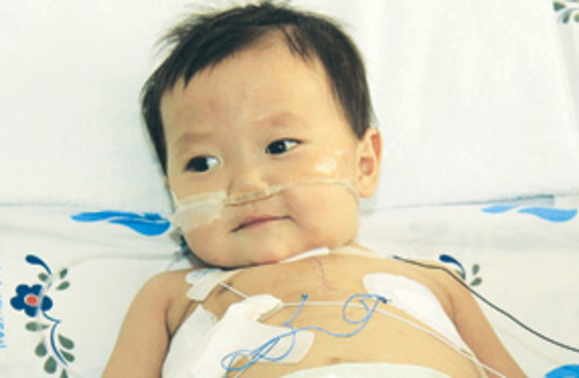 Chinese child after surgery 311 (photo credit: Save a Child's Heart)