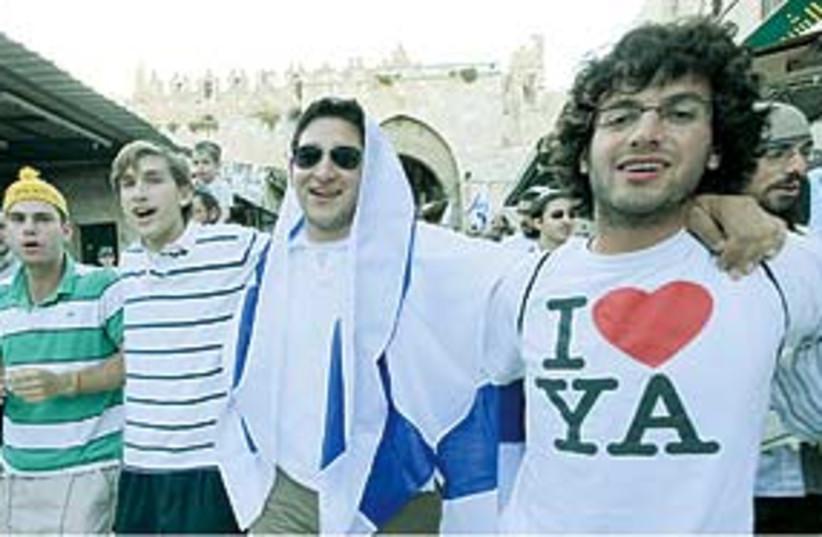 jerusalem day 311 (photo credit: Ariel Jerozolimski/The Jerusalem Post)